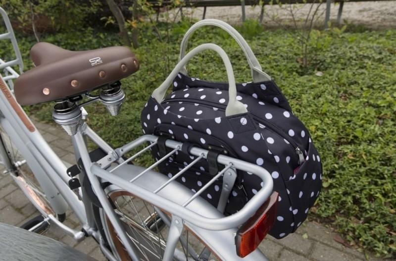 Női divat táska csomagtartóra - Tosca Midi (Polka) táska 877aba3ec8