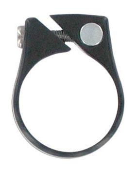 Nyeregcsőbilincs 39,9mm fekete